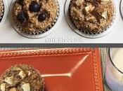 Muffins l'amande, avoine fruits