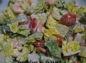 Salade crevettes coco
