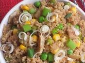 Quinoa Cantonais Ingrédients {Sans gluten,Ig bas, Végétarien}