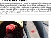 doyen droit #Montpellier sang mains doit démissionner #antifa