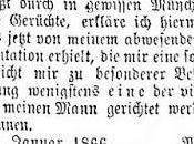 janvier 1866, Minna Wagner écrivait presse pour défendre l'honneur mari.