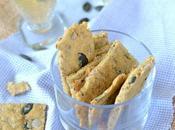 Biscuits apéritifs graines {végétaliens sans gluten}