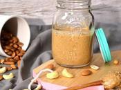 Amandes, cacahuètes cajou beurre d'oléagineux maison