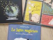 Feuilletage d'albums spécial MAGIE éditions Kaléidoscope Sortilèges Tout magie lapin magicien