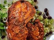 ~Dinde portoricaine avec haricots noirs~