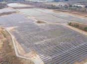 Photos reportage d'entreprise parc photovoltaïque