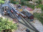découverte trains miniatures jardin ferroviaire Chatte