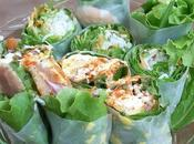 Recette wrap salade thon, oeufs, mayonnaise, olives noires