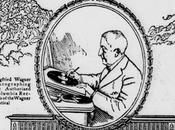 Coupure presse: séance signature Siegfried Wagner Bayreuth 1928