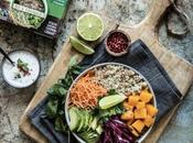 Buddha Bowl végétarien quinoa menthe