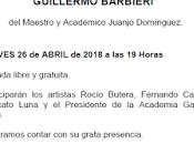 Juanjo Domínguez demain Palacio Carlos Gardel l'affiche]