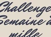 Challenge Semaine mille programme