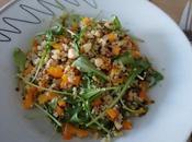 Salade quinoa, poivron roquette