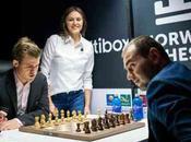Norway Carlsen, Nakamura, Caruana égalité avant dernière ronde