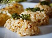 Risotto gingembre, brocolis poulet cuisson lente