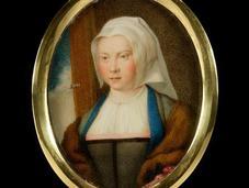 MACPHERSON Portraits d'artistes peints ivoire