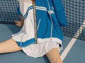 Sergio Tacchini Andrea Crews réinventent tenue tennis