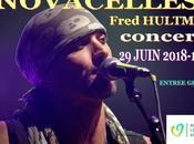 Concert FRED HULTMAN JUIN -NOVACELLES-