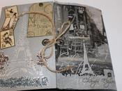 Album scrap Paris noir blanc