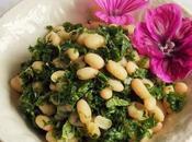 Salade haricots blancs Kale (Vegan)