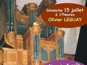 Olivier Leguay Heures d'orgue Châtillon-sur-Chalaronne dimanche juillet