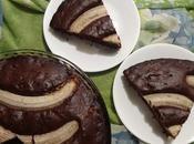 Gâteau banane chocolat banana chocolate cake bizcocho بالموز والشوكولاته