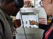 Migrants borne interactive Trace Face présentée Festival Tous engagés Croix-Rouge française