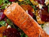 ~Filet saumon laqué l'érable balsamique~