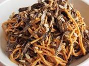 Spaghettis salade saveur iodée (Vegan)