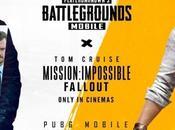 #pubg mobile repousse limites partenariat avec paramount pictures skydance media l'occasion sortie salles mission impossible fallout
