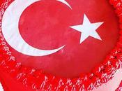 Layer cake drapeau Turquie