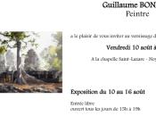 L'Art Chapelle -Noyers cher exposition Guillaume BONAMY 10/16 Août 2018