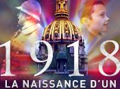 NUIT INVALIDES présente 1918 NAISSANCE D'UN MONDE NOUVEAU. spectacle superbe