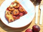 Tarte rustique prune