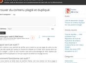 Logiciel anti-plagiat détecteurs contenu dupliqué gratuits ligne