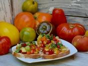 Tartines tomates basilic