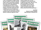 Abonnement version papier Lettres françaises