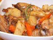 Cuisses Poulet pommes terre carotte cookeo
