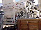 Équipement construction route usine mélange mobile béton prêt l'emploiBétonnière centrale