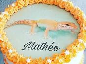 Layer Cake thème reptile