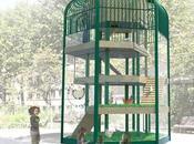 Cocott'arium appui commercial pour poulaillers urbains