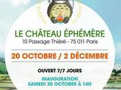 Paris, Château Éphémère revient avec pop-up store dédié films d'animations japonais d'Hayao Miyazaki