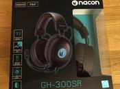 Jeux vidéo Test Casque GH-300SR chez Nacon