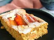 Gâteau très moelleux vegan amandes coings