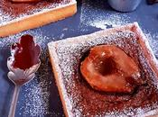 Tarte crème amandine poire chocolat