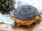 Black burger végétarien (galettes potimarron-lentilles corail)