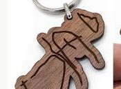 Porte-clés, accessoires, réalisés partir coloriages