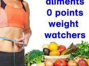 Légume minceur aliment points weight watchers