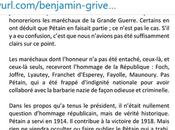 @BGriveaux bientôt sanctionné #Fakenews #Petain