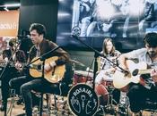 Rosaire showcase acoustique Cultura Langueux, novembre 2018